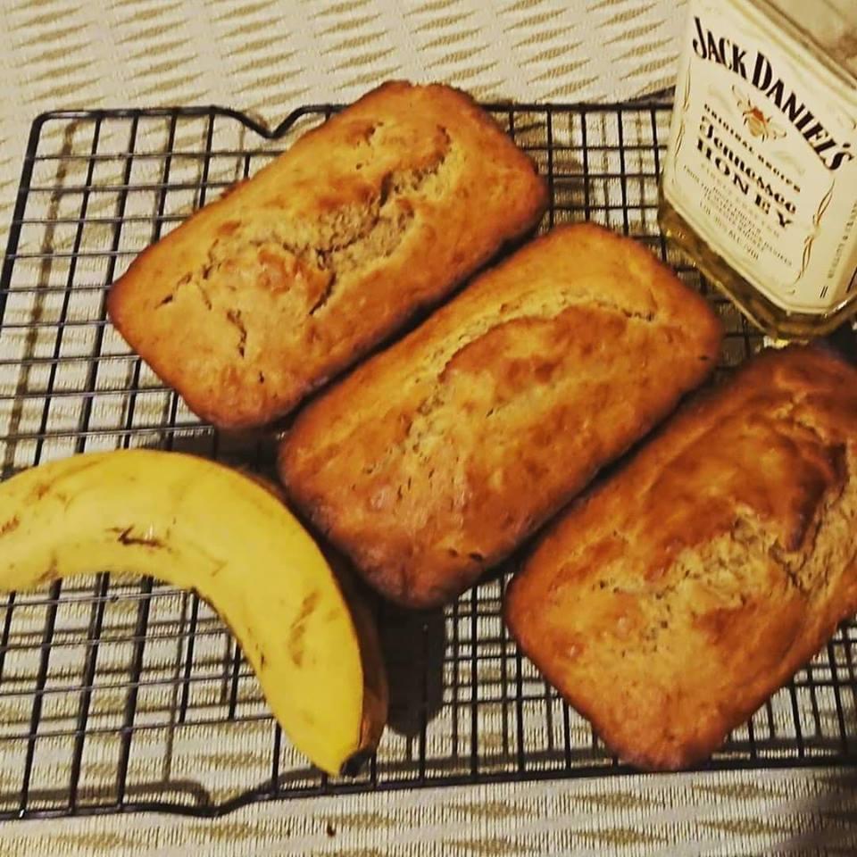 Boozy Banana Bread