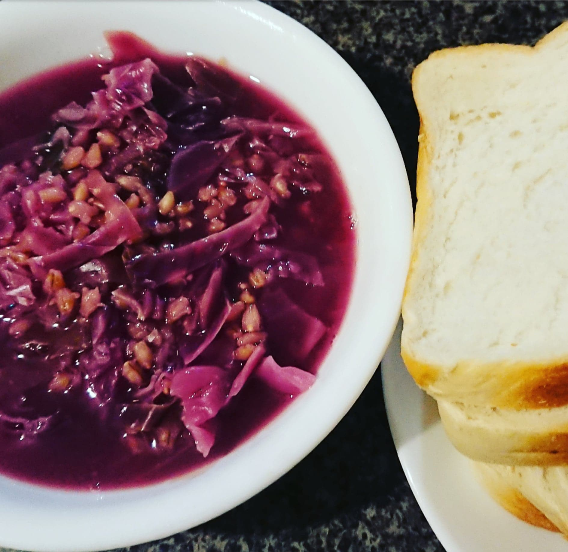 Cabbage and Barley Soup