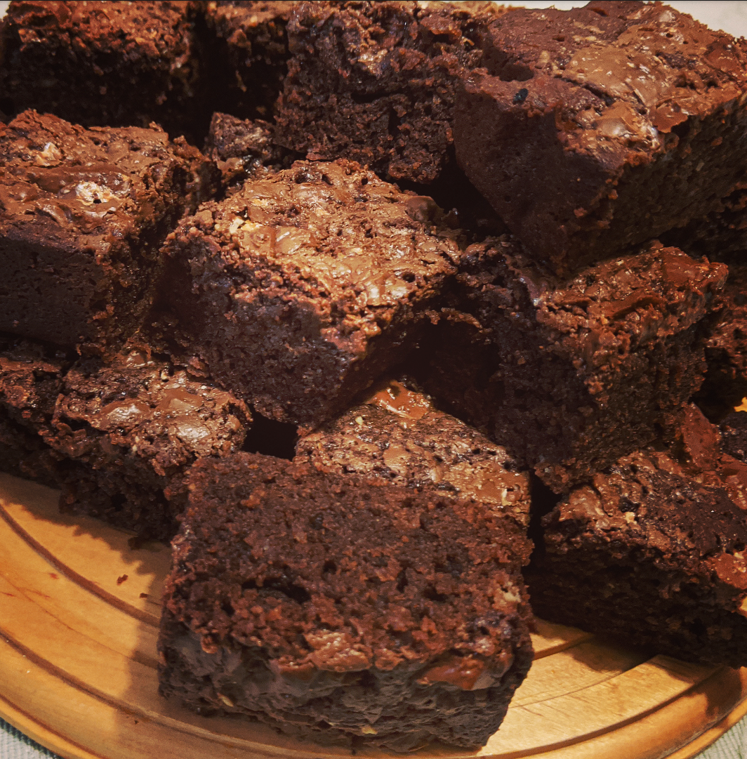 Toblerone Brownies
