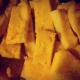 Baked Polenta Chips (Scagliozzi)